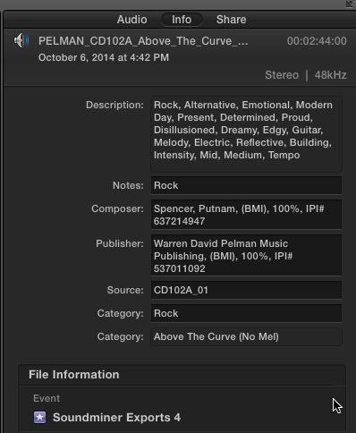 Soundminer v4Pro - Info & Tips